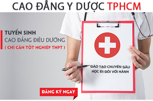 Cao đẳng Y Dược TPHCM đào tạo điều dưỡng viên chất lượng