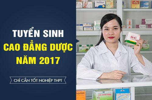 Điểm trúng tuyển Cao đẳng Dược TP HCM năm 2017 là bao nhiêu?