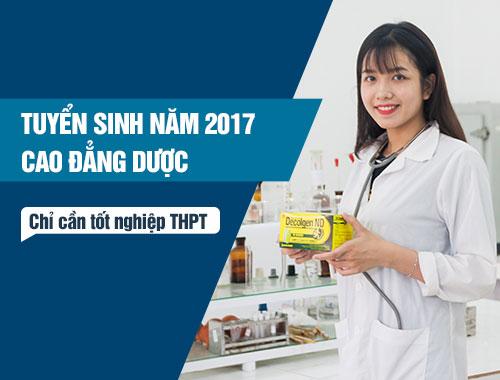 Học phí Cao đẳng Dược TPHCM năm 2017