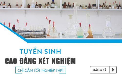Điều kiện xét tuyển Cao đẳng Xét nghiệm TPHCM năm 2017