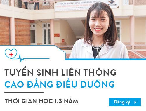 Cao đẳng Y Dược TP HCM tuyển sinh liên thông Cao đẳng Điều dưỡng