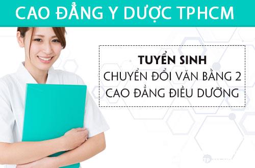 Tuyển sinh Văn bằng 2 Cao đẳng Điều dưỡng TPHCM năm 2017