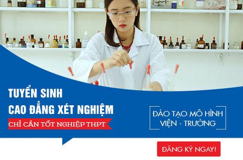 Cao đẳng Y dược TPHCM địa chỉ đào tạo kỹ thuật Xét nghiệm viên chất lượng