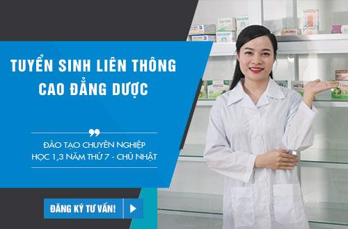 Học Liên thông Cao đẳng Dược TPHCM năm 2018 ngoài giờ hành chính