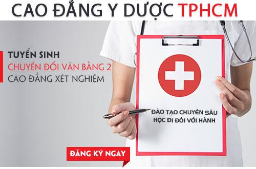 Cao đẳng Y dược TPHCM địa chỉ đào tạo Xét nghiệm uy tín