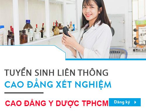 Cao đẳng Y dược TPHCM địa chỉ đào tạo Kỹ thuật Xét nghiệm TPHCM chất lượng