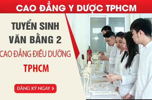 Tuyển sinh Văn bằng 2 Cao đẳng Điều dưỡng TPHCM năm 2018