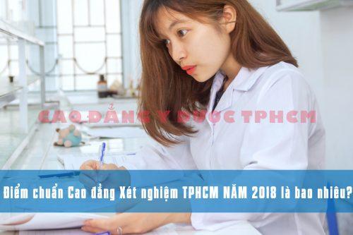 Điểm chuẩn Cao đẳng Xét nghiệm TPHCM năm 2018 là bao nhiêu?