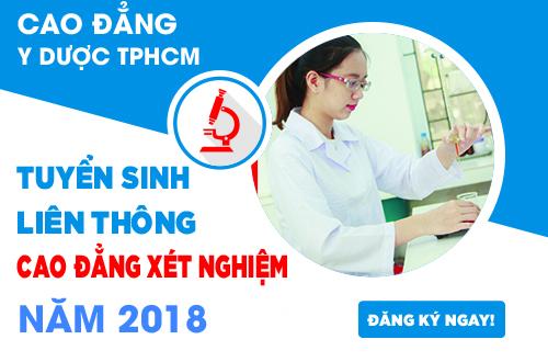Liên thông Cao đẳng Xét nghiệm TPHCM được đông đảo thí sinh lựa chọn
