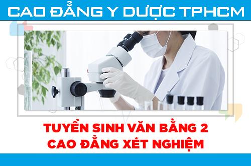Cao đẳng Y dược TPHCM địa chỉ đào tạo Xét nghiệm viên chất lượng hàng đầu