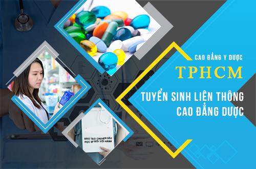 Tuyển sinh Liên thông Cao đẳng Dược TPHCM năm 2018