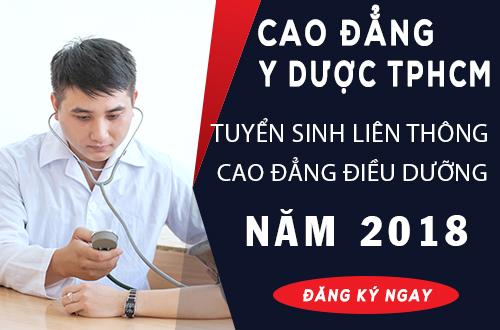 Hồ sơ Liên thông Cao đẳng Điều dưỡng TPHCM năm 2018