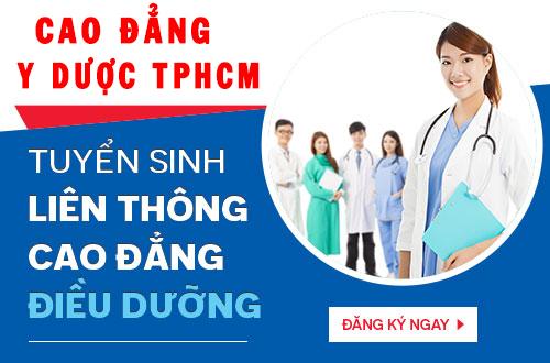 Đối tượng nào có thể theo học Liên thông Cao đẳng Điều dưỡng TPHCM năm 2018?