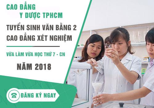 Văn bằng 2 Cao đẳng Xét nghiệm TPHCM dành cho những đối tượng nào?