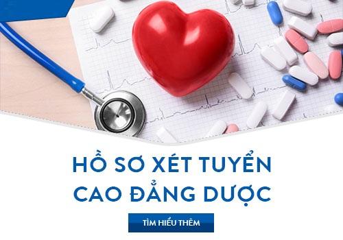 Hồ sơ đăng xét tuyển Cao đẳng Dược TPHCM năm 2018