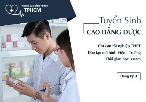 Tuyển Sinh Cao đẳng Dược TPHCM năm 2018.