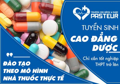 Tuyển sinh Cao đẳng Dược TPHCM chỉ cần tốt nghiệp THPT.