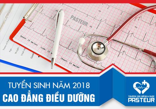 Cao đẳng Y dược TPHCM tuyển sinh Cao dẳng Điều dưỡng năm 2018.