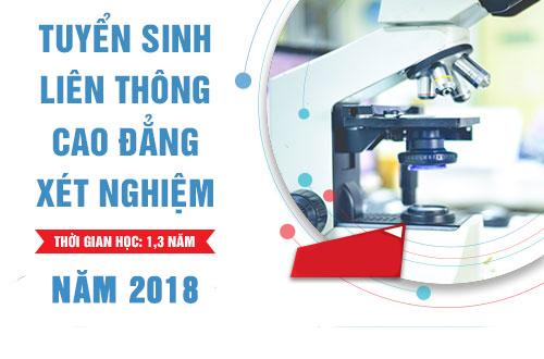 Liên thông Cao đẳng Xét nghiệm TPHCM năm 2018 dành cho đối tượng nào?