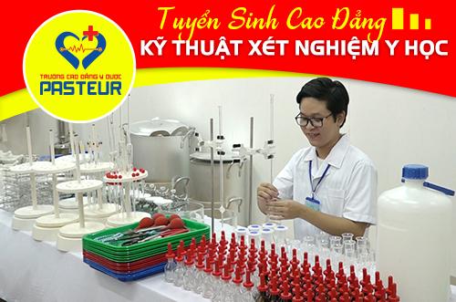 Xét tuyển Cao đẳng Xét nghiệm TPHCM năm 2018