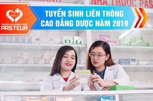 Tuyển sinh Liên thông Cao đẳng Dược TPHCM năm 2019