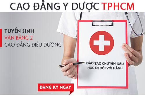 Hồ sơ xét tuyển Văn bằng 2 Cao đẳng Điều dưỡng TPHCM năm 2018