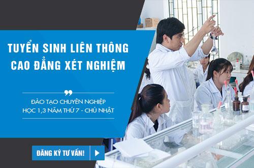 Học liên thông Cao đẳng Xét nghiệm TPHCM ngoài giờ hành chính