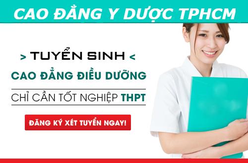 Thời gian đào tạo Cao đẳng Điều dưỡng TPHCM năm 2018