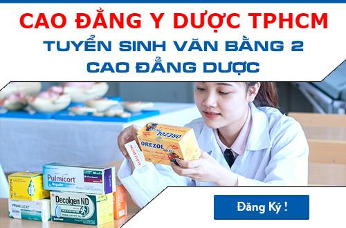 Cao đẳng Y dược TPHCM địa chỉ đào tạo Dược sĩ đáng tin cậy