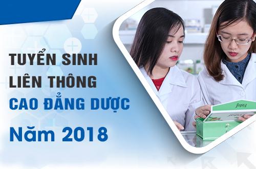 Hồ sơ đăng ký học liên thông Cao đẳng Dược TPHCM năm 2018