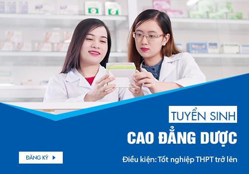 Tuyển sinh Cao đẳng Dược TPHCM năm 2018