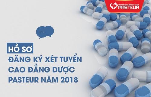 Hồ sơ đăng ký xét tuyển Cao đẳng Dược TPHCM năm 2018