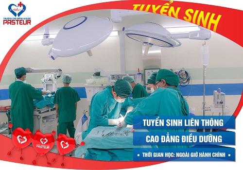Cao đẳng Y dược TPHCM đào tạo Điều dưỡng viên uy tín