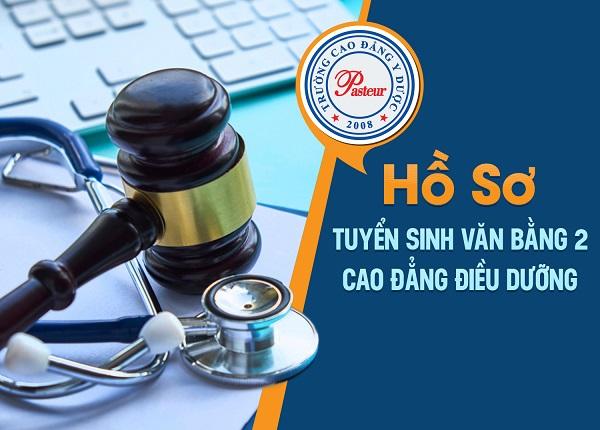 Hồ sơ đăng ký học Văn bằng 2 Cao đẳng Điều dưỡng TPHCM năm 2019